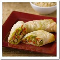 Baked Eggrolls | Recipes more attempts at healthy kid food.