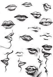 lips drawing - Google Search