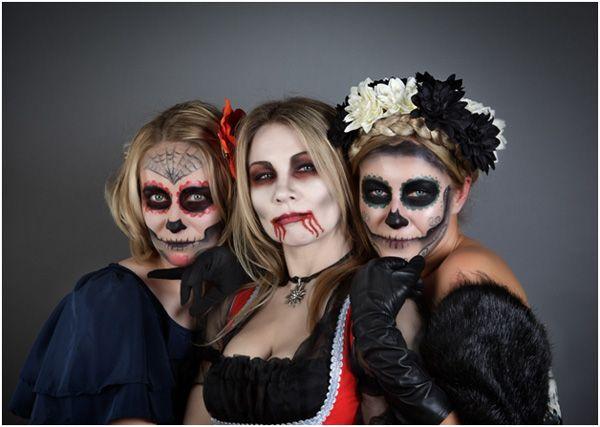 Top 15 Amazing Halloween Makeup Ideas For Women