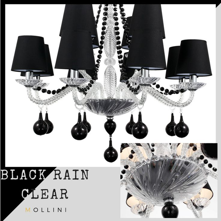 #chandelier #handmade #glass #crystal #tears_drops #lamps #hanginglamp #decor #black #interior #myhome #4_home #designers #classic