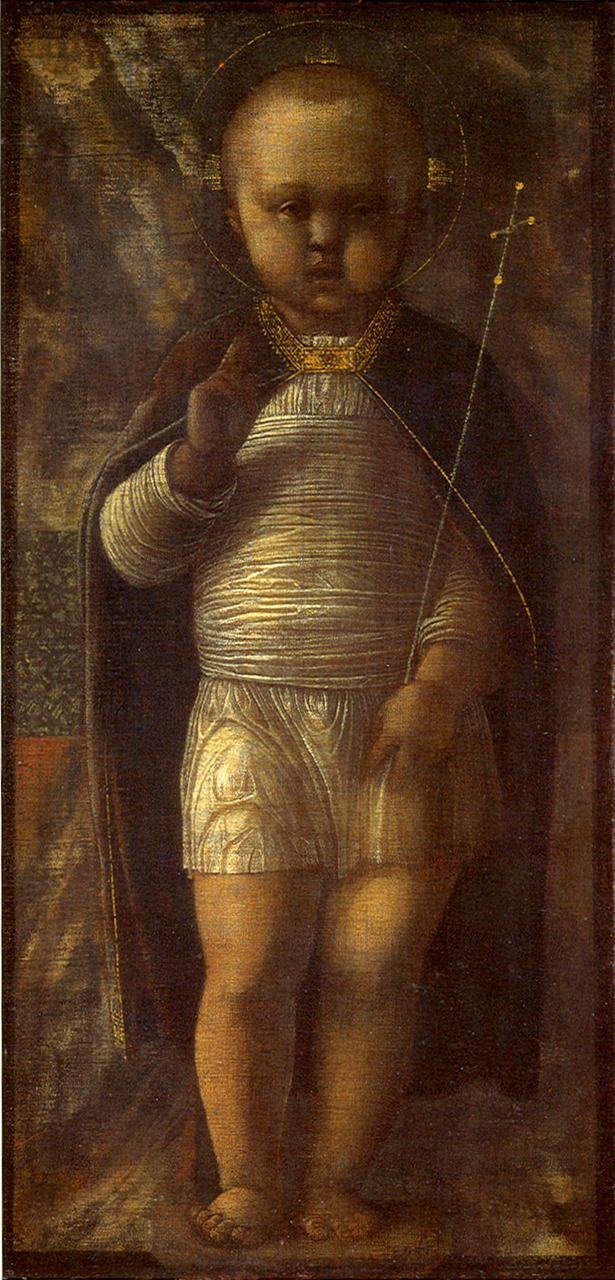 Andrea Mantegna  Infant Savior, 15th century
