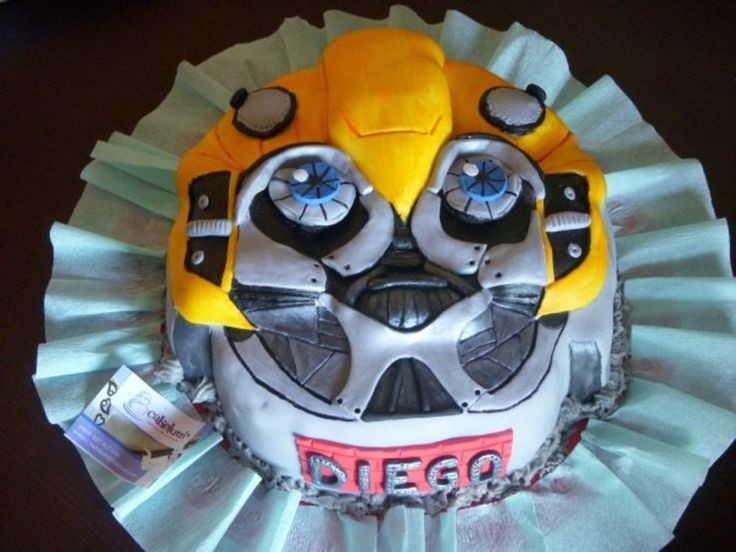 Transformer Cake Design
