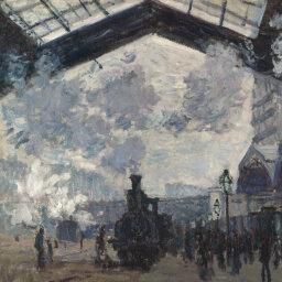 Claude Monet | The Gare St-Lazare | NG6479 | National Gallery, London
