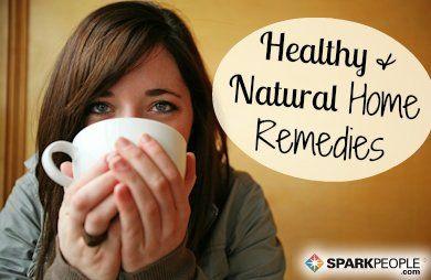 10 Healthy Home Remedies via @SparkPeople