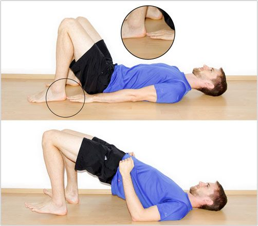3 Hip Strengthening Exercises to Stop Patellar Tendonitis from Coming Back Exercise #1: The Glute Bridge Exercise #2: Hip Abductions Exercise #3: Clamshells