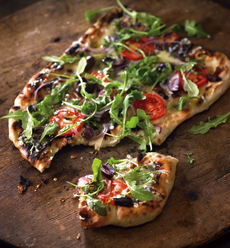 Individual Grilled Pizzas-Perfect for this Sunday's 49ers game