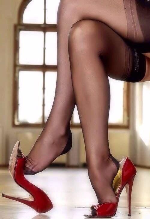 sexy shoe leg porno