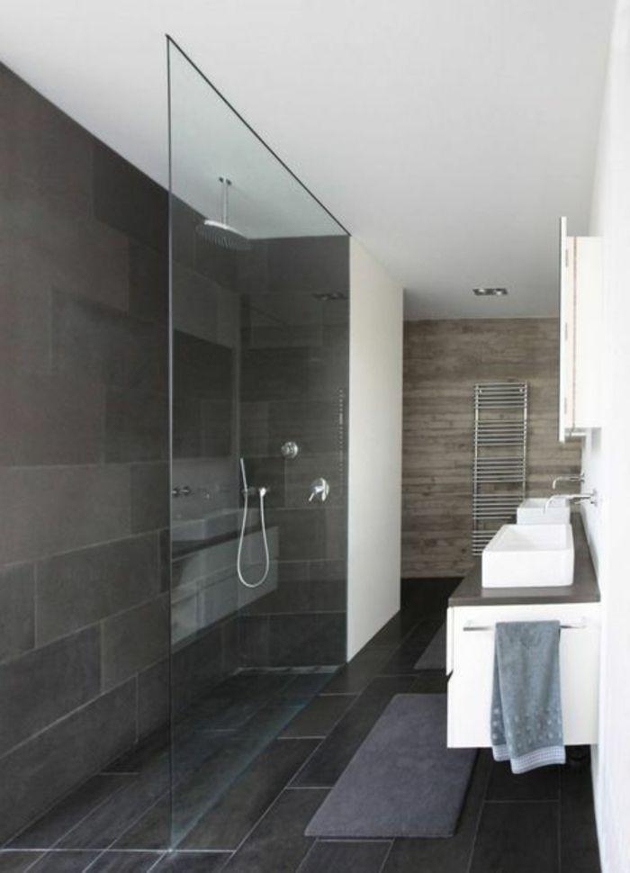 die besten 25+ begehbare dusche ideen auf pinterest, Badezimmer dekoo