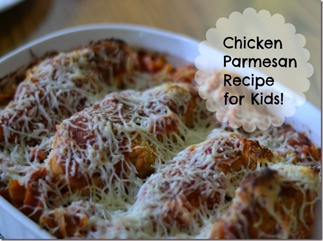 ad Chicken Parmesan Recipe using Tyson Crispy Chicken Strips for # ...