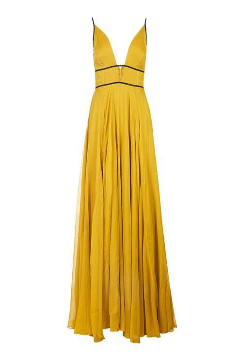 Chiffon Beaded Maxi Dress - Dresses - Clothing - Topshop USA