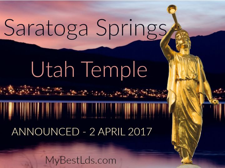 The Saratoga Springs & Eagle Mountain population has grown from about 3,000 in 2000 to over 50,000 today. If the new temple is completed in just 3 short years, it will be met with a population of 67,500+. This area of Utah is 82% LDS, so they'll have plenty of use for a new temple. #ldsconf