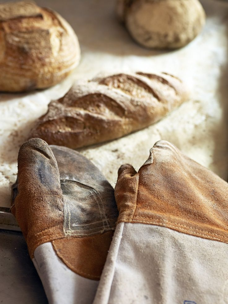 all our bread is freshly baked - every day of the week at Olivias bakery & cafe UK