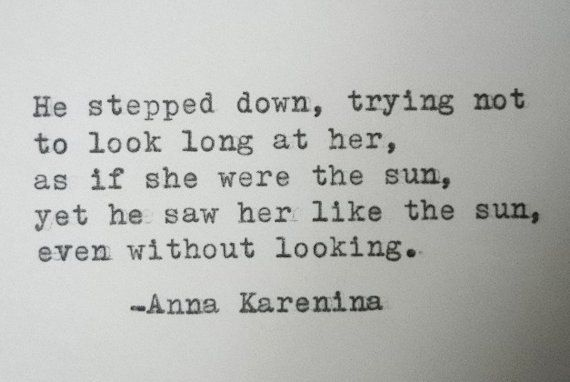 ANNA KARENINA quote love quote Literary love by PoetryBoutique, $9.00