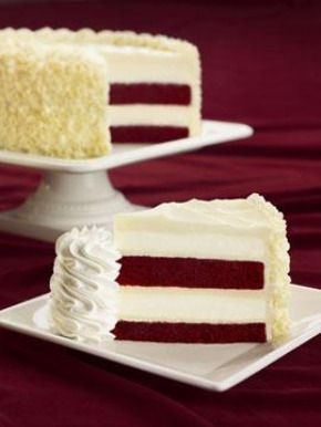 Red Velvet Cheesecake from The Cheesecake Factory