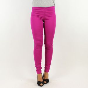 PIECES - PANTALON LEGGING FUNKY FOXY MAGENTA