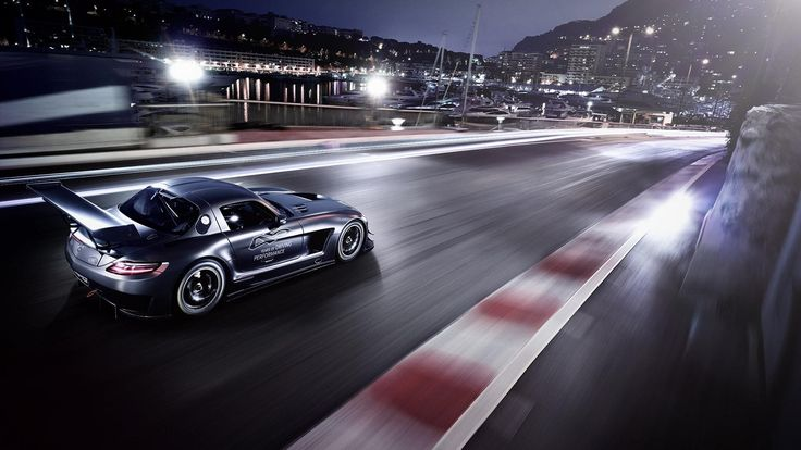 Latest Mercedes Benz SLS AMG F Safety Car Wallpaper HD Car 6