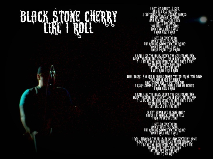 Black Stone Cherry Lyrics