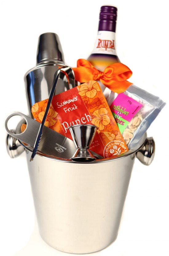 #flowers #australia #gifts #hamper -   Mix up a nice cool cocktail this festive season with our complete cocktail set featured in a stainless steel ice bucket. Rumba Wine Cocktail Mix 700ml Summer Fruit Punch Mix Sachet 20g Stainless Steel Cocktail S