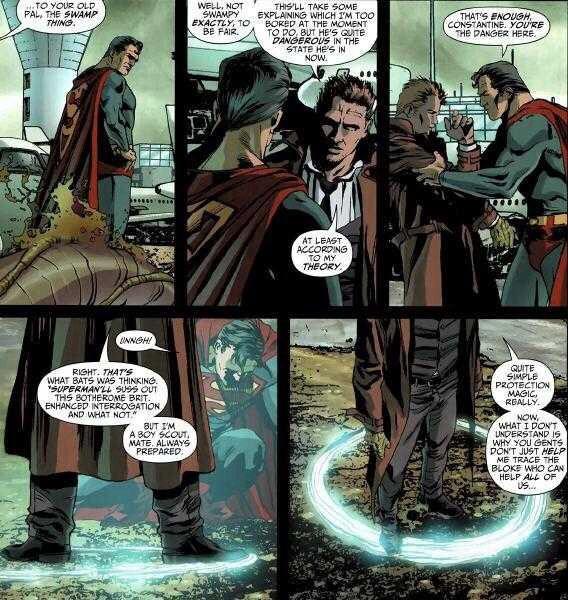 Ghost Rider Vs John Constantine