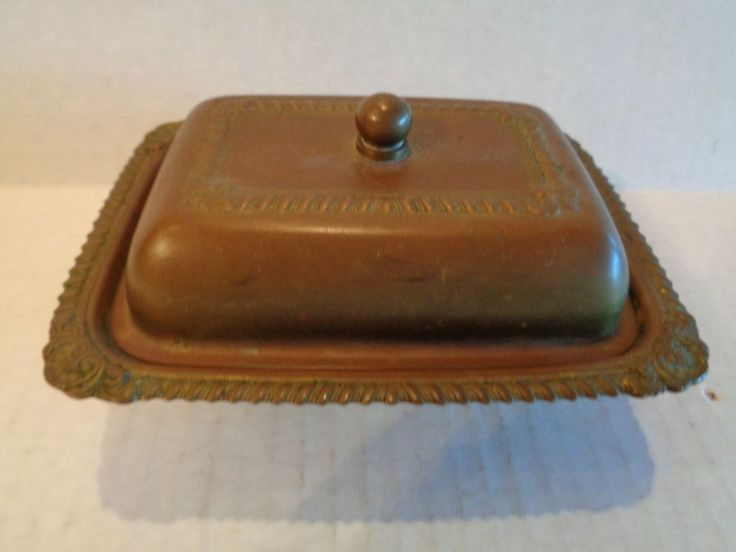 Soap dish for hall bath? GLO-MAR Footed Brass Dish Trinket Jewelry Box With Glass Insert American Made   | eBay
