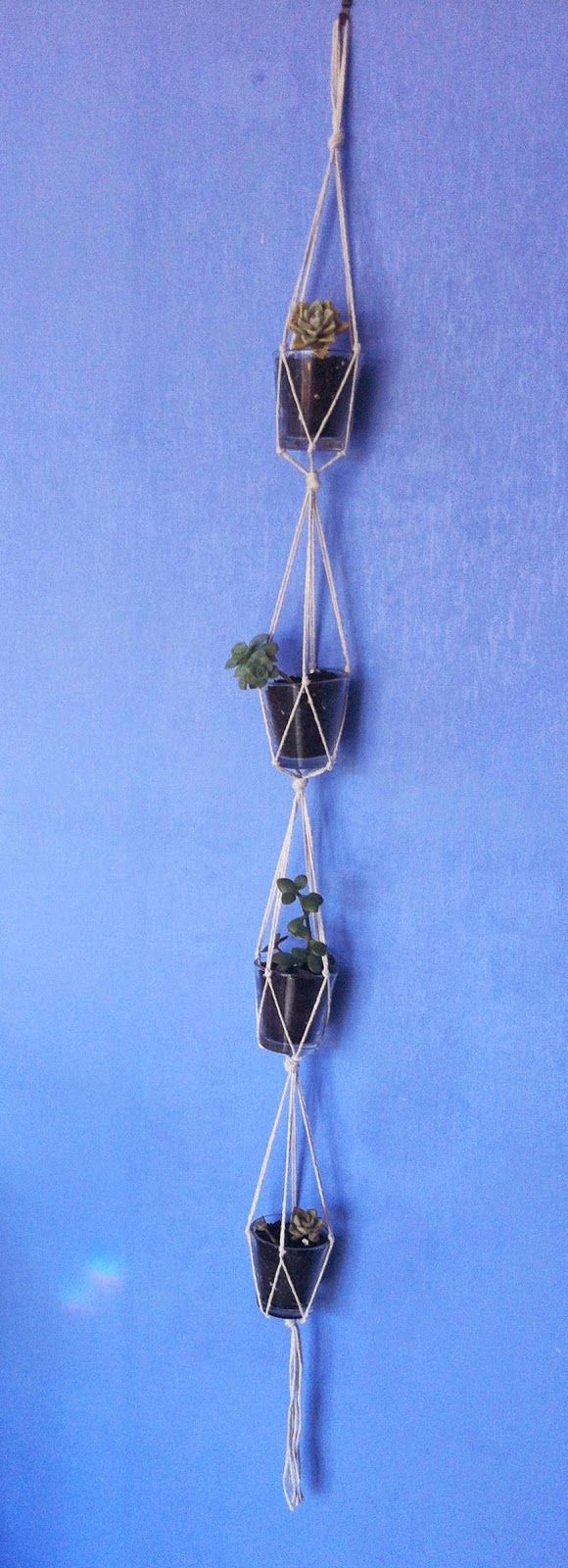 Shannon's Crafts and other stuff: Macrame hanging planters