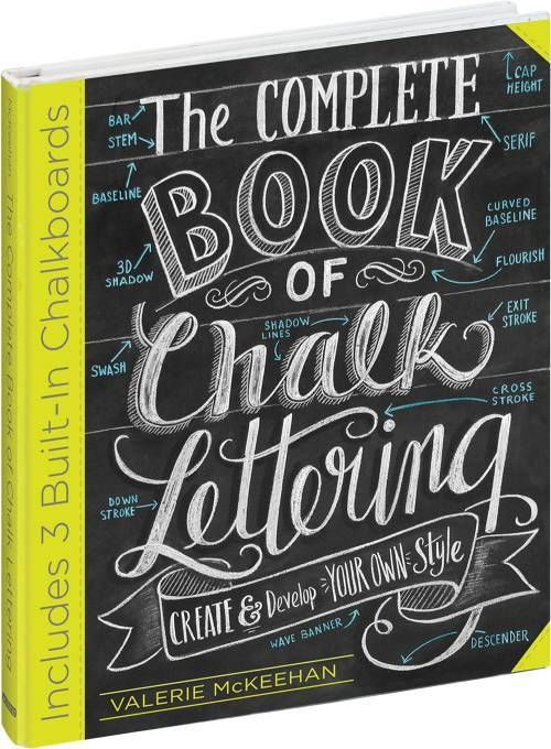 ≡ The complete book of chalk lettering