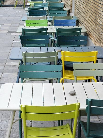 Chaises Luxembourg / Fermob http://www.madeindesign.com/prod-chaise-empilable-luxembourg-fermob-ref410145.html