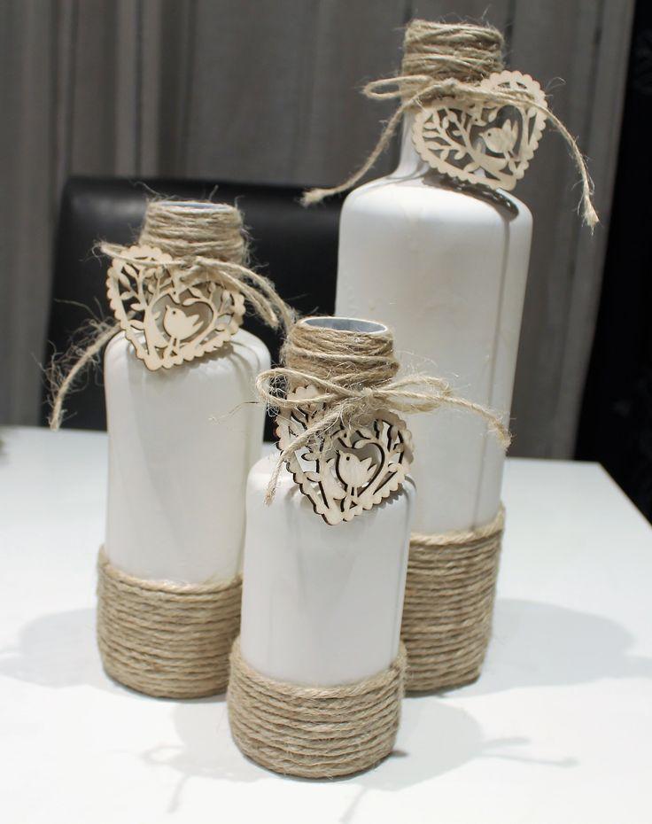 Otro diseño de botellas recicladas