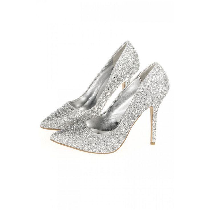 Debenhams sparkly pointed heels