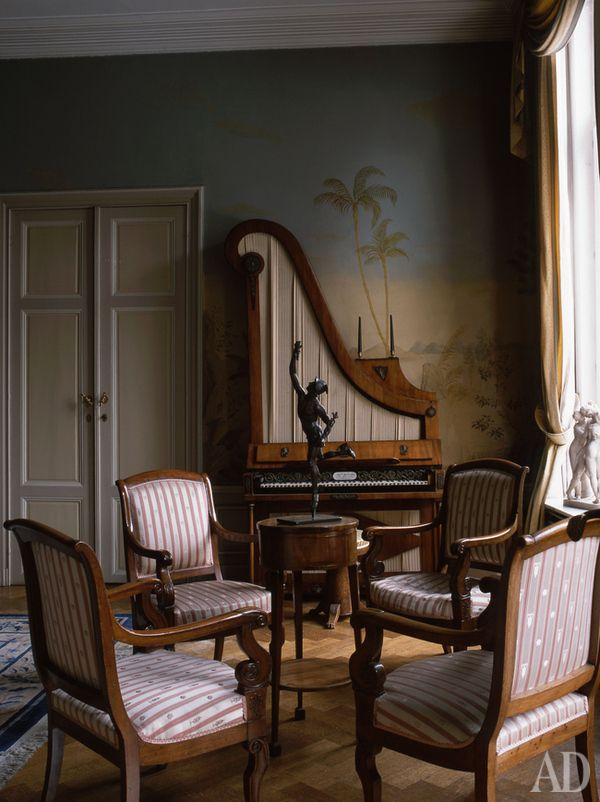 Impractical But Lovely The Persons In Chairs May Converse Not Have Tea No Suitable Tables Or Read Lamps