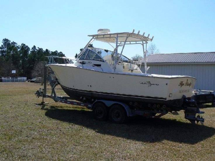 2003 Albemarle 265 Express Fisherman Power Boat For Sale - www.yachtworld.com