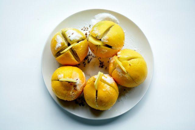 Life Without Lemons: PRESERVED FENNEL & GINGER LEMONS