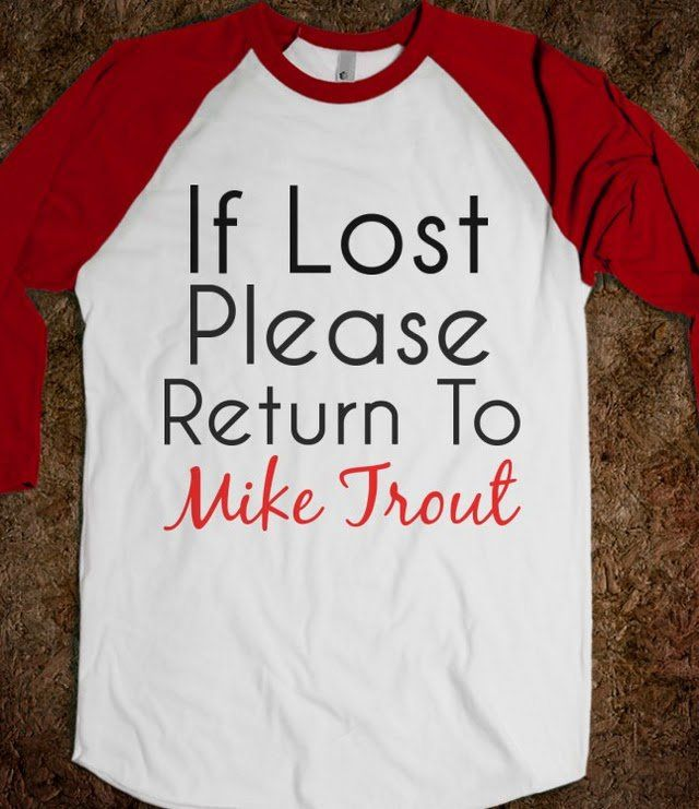 Return To Mike Trout - Reddicks on Wanelo
