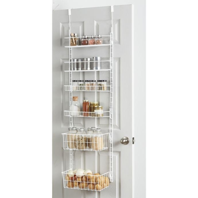 Over The Door Spice Rack Bed Bath And Beyond Pantry