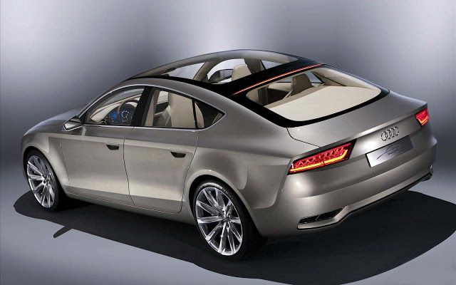 Auto Cars: Audi Sportback Concept 4 Free Wallpapers