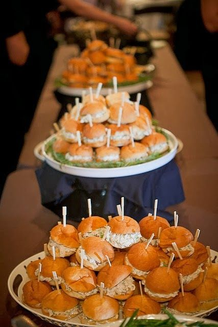 365 Best Party Foods And Ideas Images On Pinterest Hamburgers
