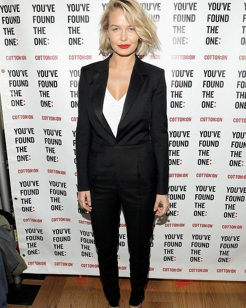 Lara Bingle attends The ONE By Cotton On Launch in Santa Monica. #fashion #redcarpet #larabingle #cottonon #launch #santamonica #smh #lifeandstyle