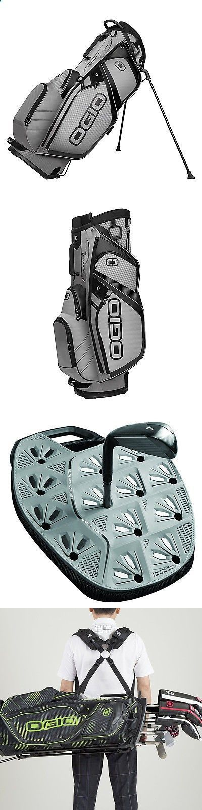 Golf Bags - Golf Club Bags 30109: Ogio Silencer Stand Protective And Quiet Golf Bag With 14-Way Top, Pewter Gray BUY IT NOW ONLY: $171.99 #golfbags
