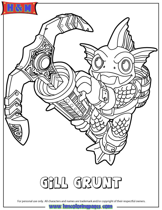 Free Skylanders Swap Force Coloring Pages, Download Free Clip Art ... | 867x670