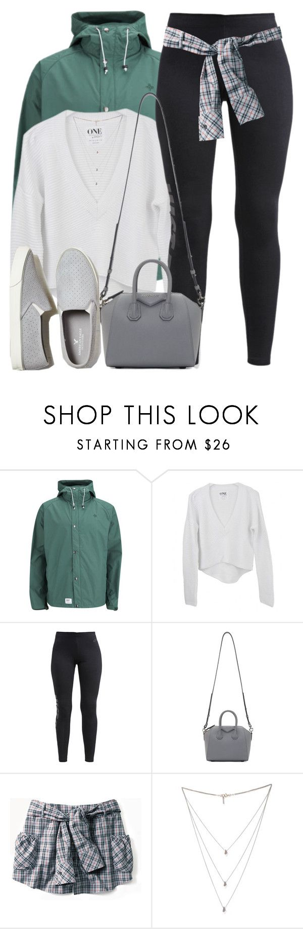 """""""rain rain go away"""" by aiyanaa ❤ liked on Polyvore featuring Addict, NIKE, Givenchy, Isabel Marant and American Eagle Outfitters"""