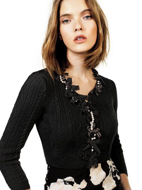 liu jo 2015 collezione autunno inverno abito stampato giacca boucle