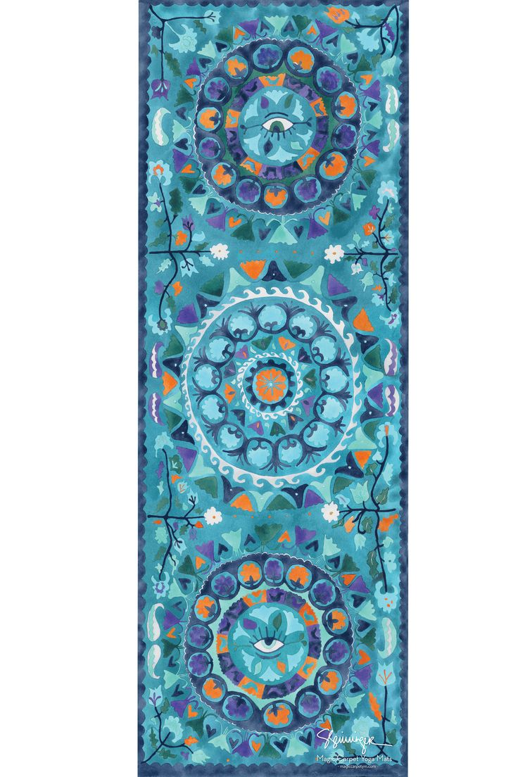 20 best Magic Carpet Yoga Mats Designs images on Pinterest ...