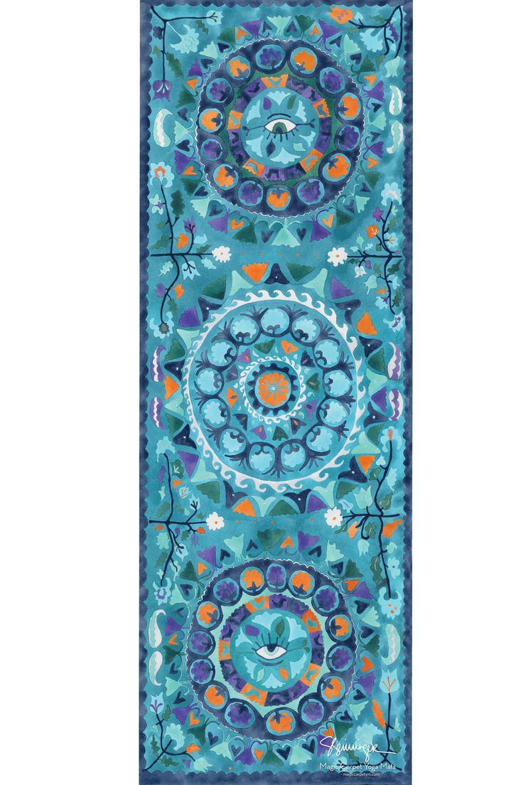 20 best Magic Carpet Yoga Mats Designs images on Pinterest
