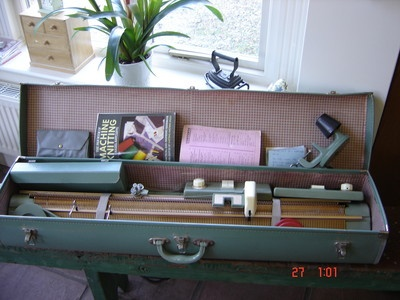 Vintage Singer Mk 1 Chatelaine Knitting Machine With