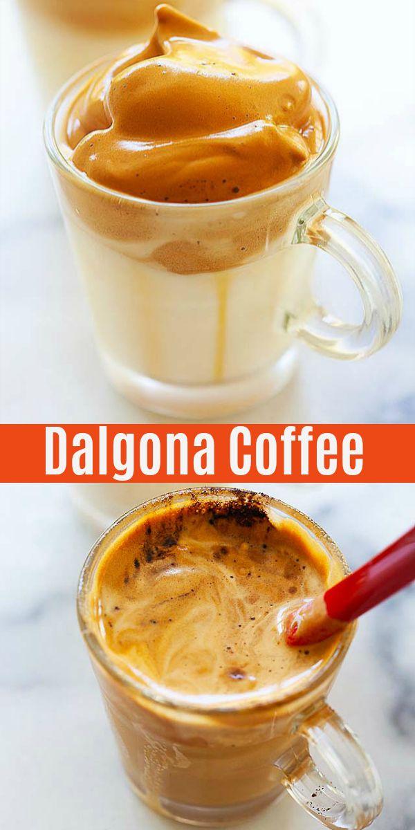 Dalgona Coffee In 2020 Coffee Recipes Coffee Calories Dalgona Coffee