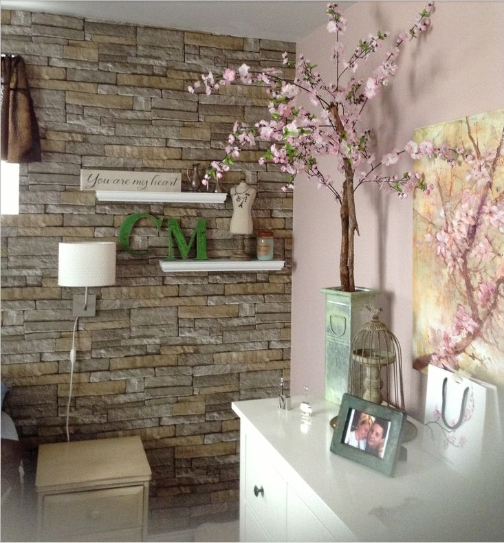 Interior Stone Wall Kitchen: TotalWallcovering.Com