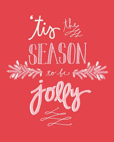Lovely! Let the Season last throughout the year. How about making every day as jolly as we can?