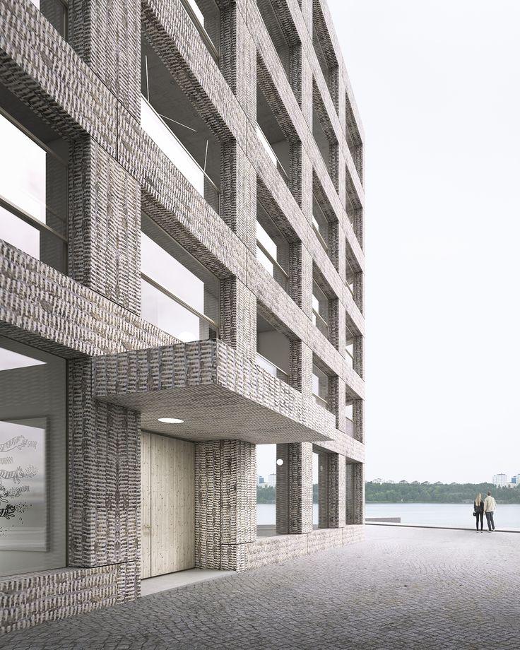 Efter att Byggnadsfirman Erik Wallin vunnit markanvisningstävling i Södra Värtan har den vinnande arkitekten nu utsetts. Johannes Norlander Arkitektur får i uppdrag att forma flerfamiljshuset som ligger på Kajkanten mellan Värtahamnen och Frihamnen med utsikt över Lidingö och saltsjön.