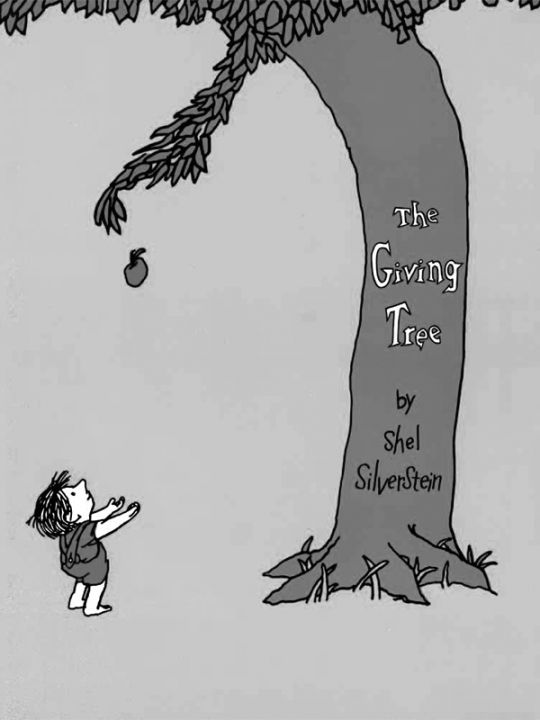 Kindle 4 screensaver: The Giving Tree