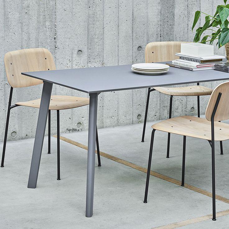 Soft Edge - Frame steel - HAY -   Verkrijgbaar via: https://www.livingdesign.be/nl/merken/hay/stoelen